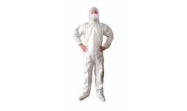 Fato de Proteção Impermeável PP+PE com Capuz e Fecho