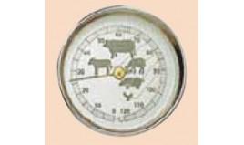Termómetros para Assados (0° a +120°C)